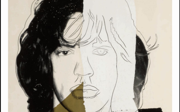 Andy Warhol's Portrait Of Mick Jagger Is Up For Auction At Sotheby's