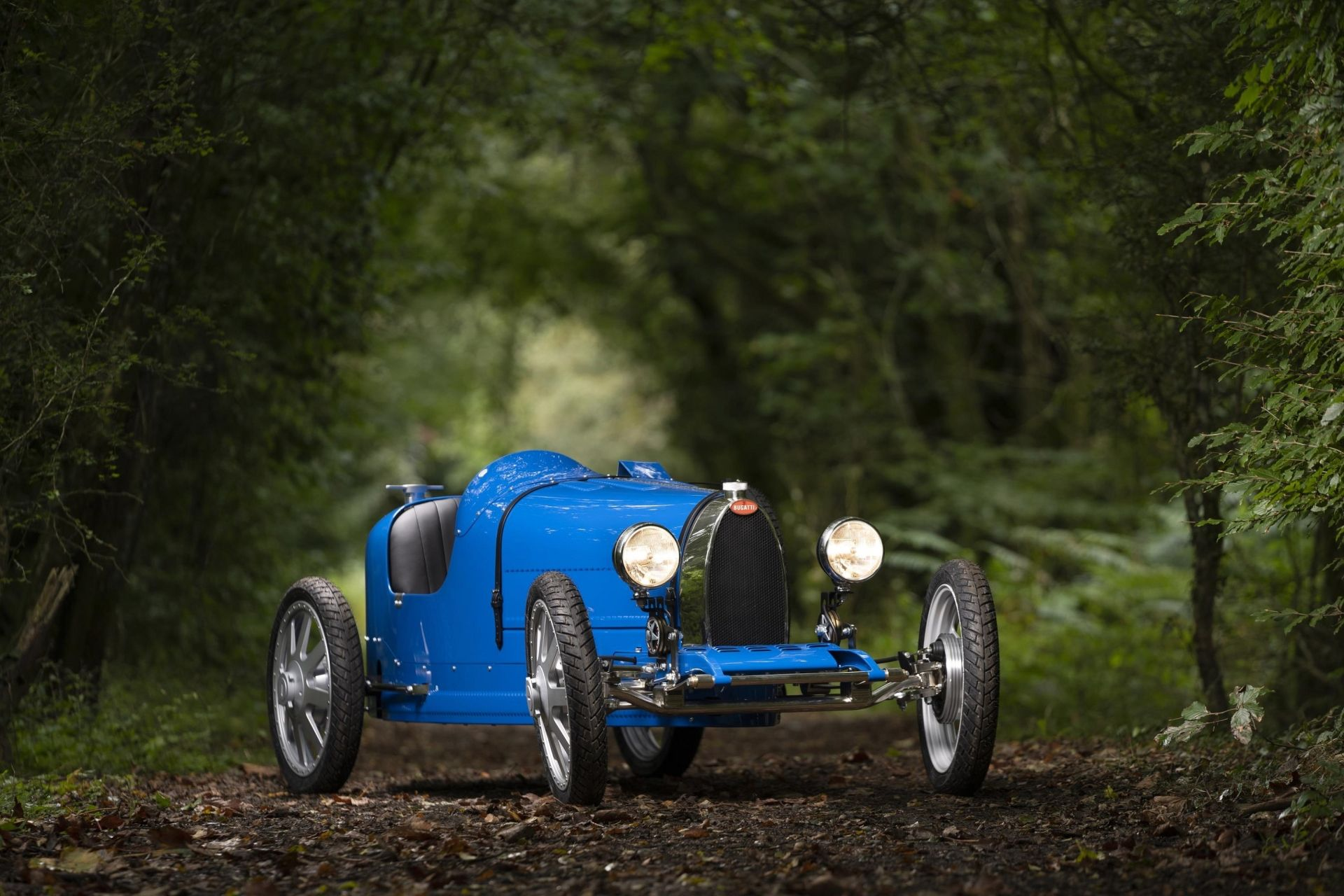 Bugatti Launches Electric Type 35 Race Car For Kids