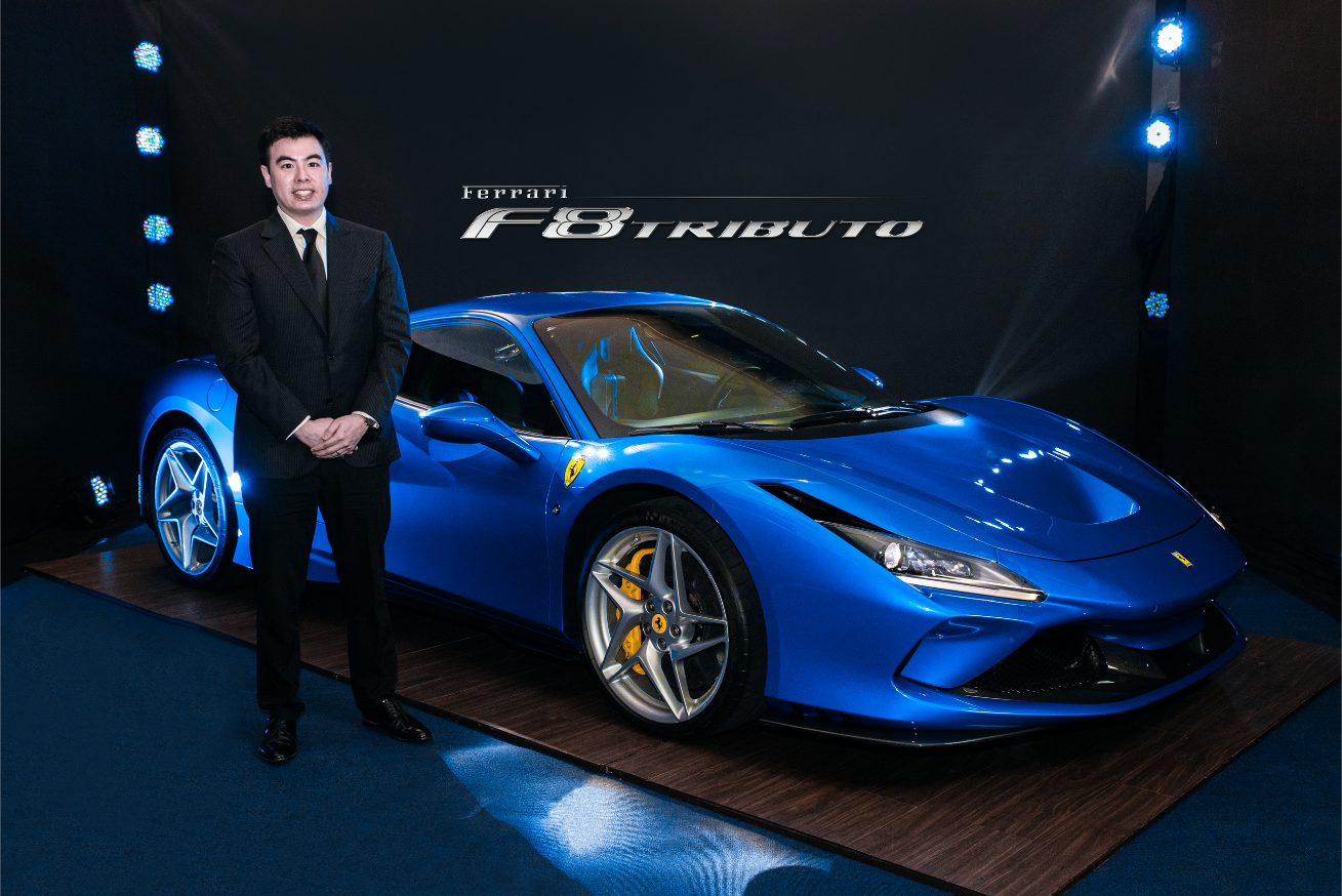 Ferrari F8 Tributo Proudly Revs Its Way To The Philippines Through A Digital Launch