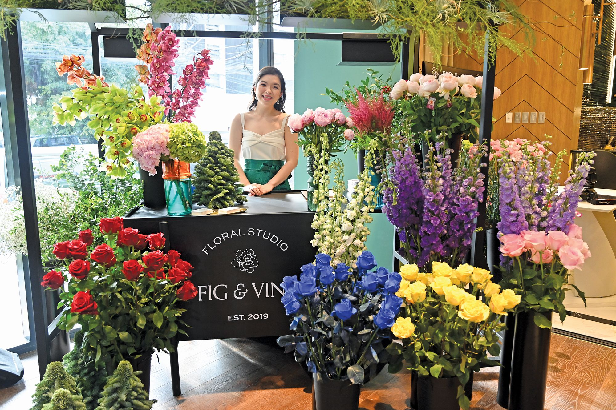 Tatler Home Tips: Fig & Vine Founder Stephanie Coyiuto-Tay Talks About Floralscapes And Plants