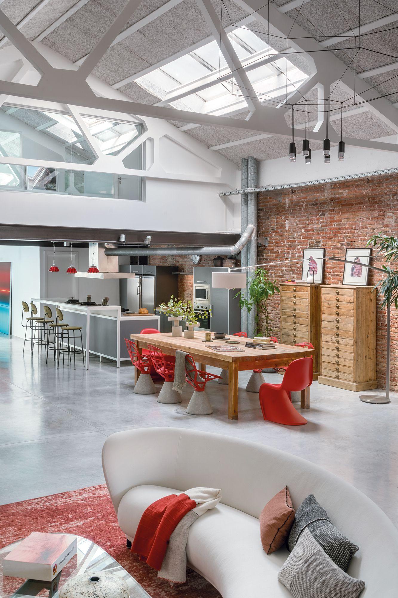 Home Tour: A Loft Apartment In Barcelona That Doubles As An Art Venue