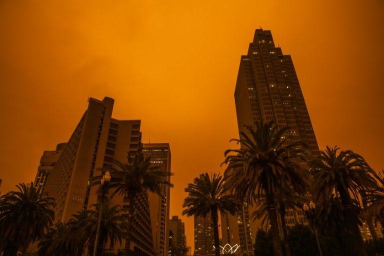 California Fire: San Francisco Goes Apocalyptic With Ominous Orange Sky