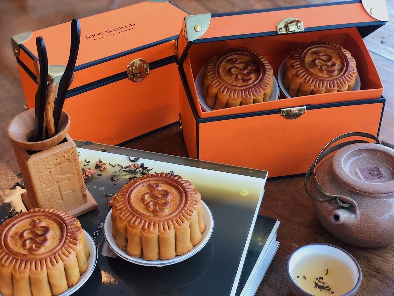 Celebrate Mid-Autumn Festival 2020 With Luscious Mooncakes From Jasmine At New World Makati Hotel