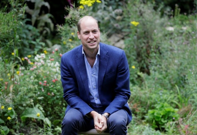 Prince William was speaking as part of a free streamed TED event aimed at unifying people to face the threats of climate change  © Kirsty Wigglesworth - POOL/AFP/File