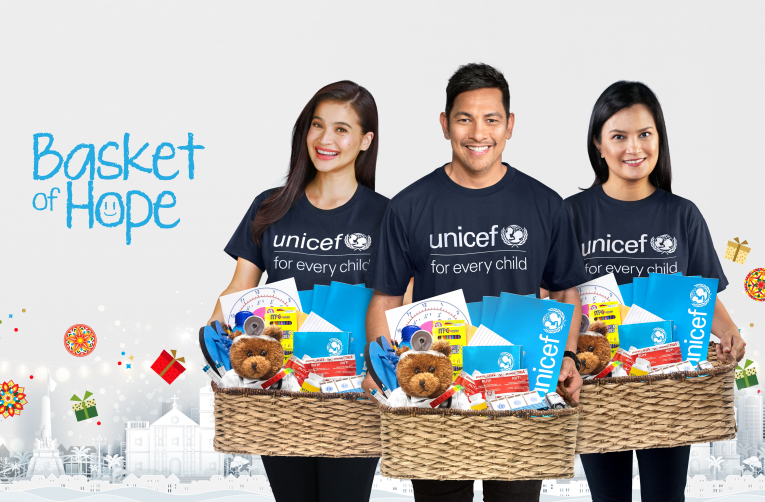 Anne Curtis, Daphne Oseña, and Gary Valenciano Present Basket Of Hope: UNICEF's 2020 Fundraising Campaign