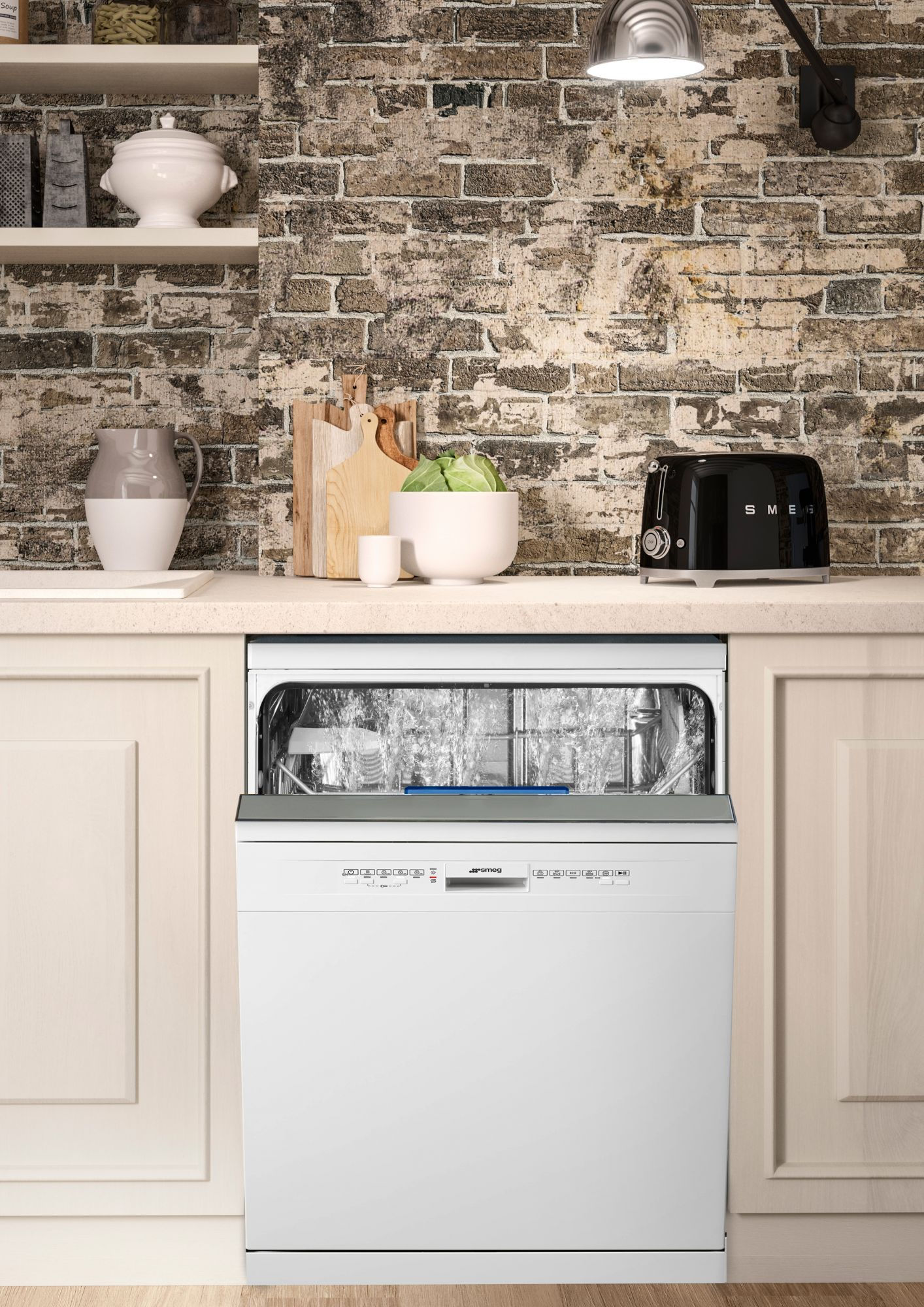 3 Reasons Why SMEG's Free-Standing Dishwasher Is The Perfect Addition To Your Kitchen This Quarantine