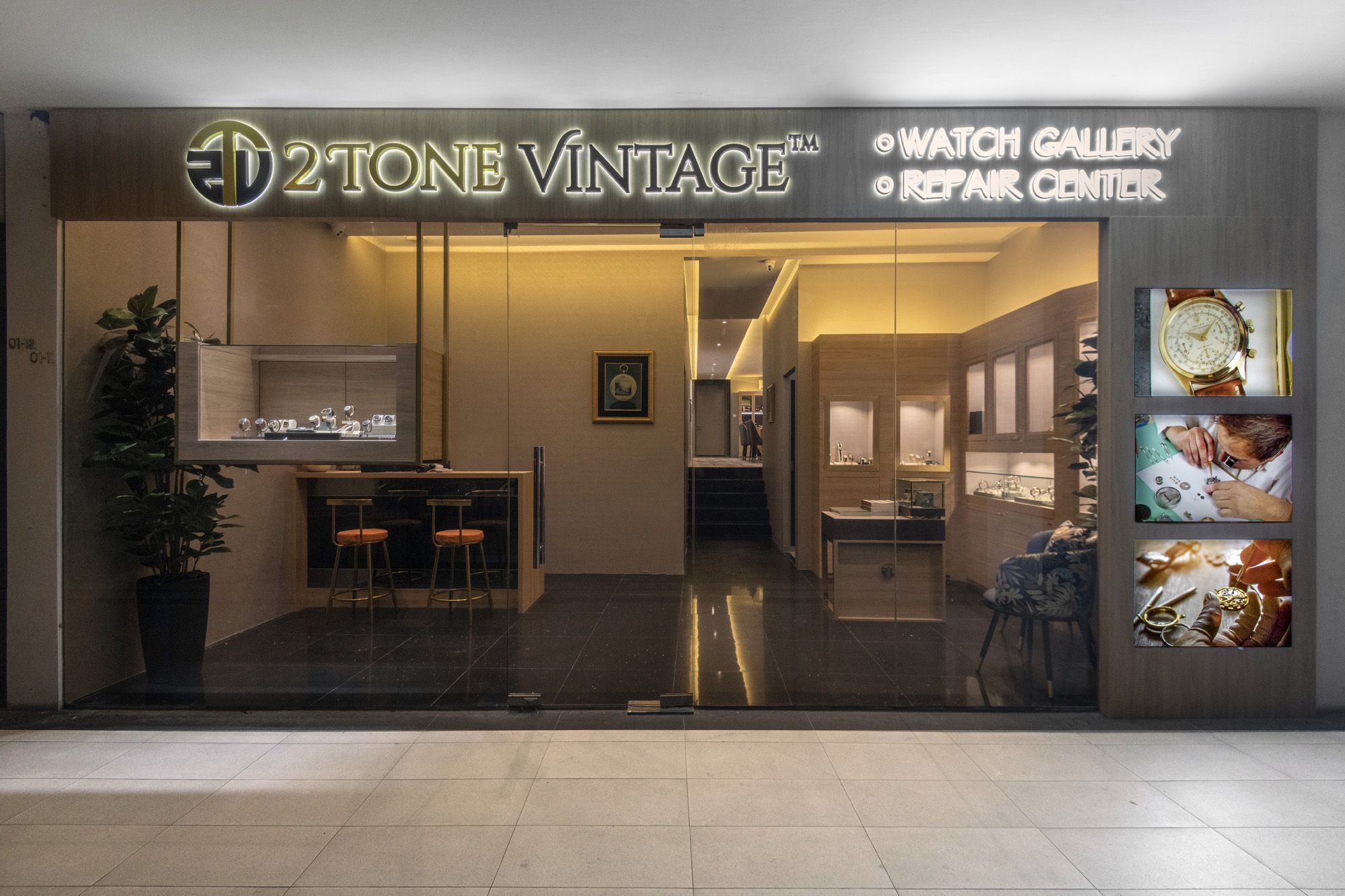 2ToneVintage Watch Boutique Opens In Singapore
