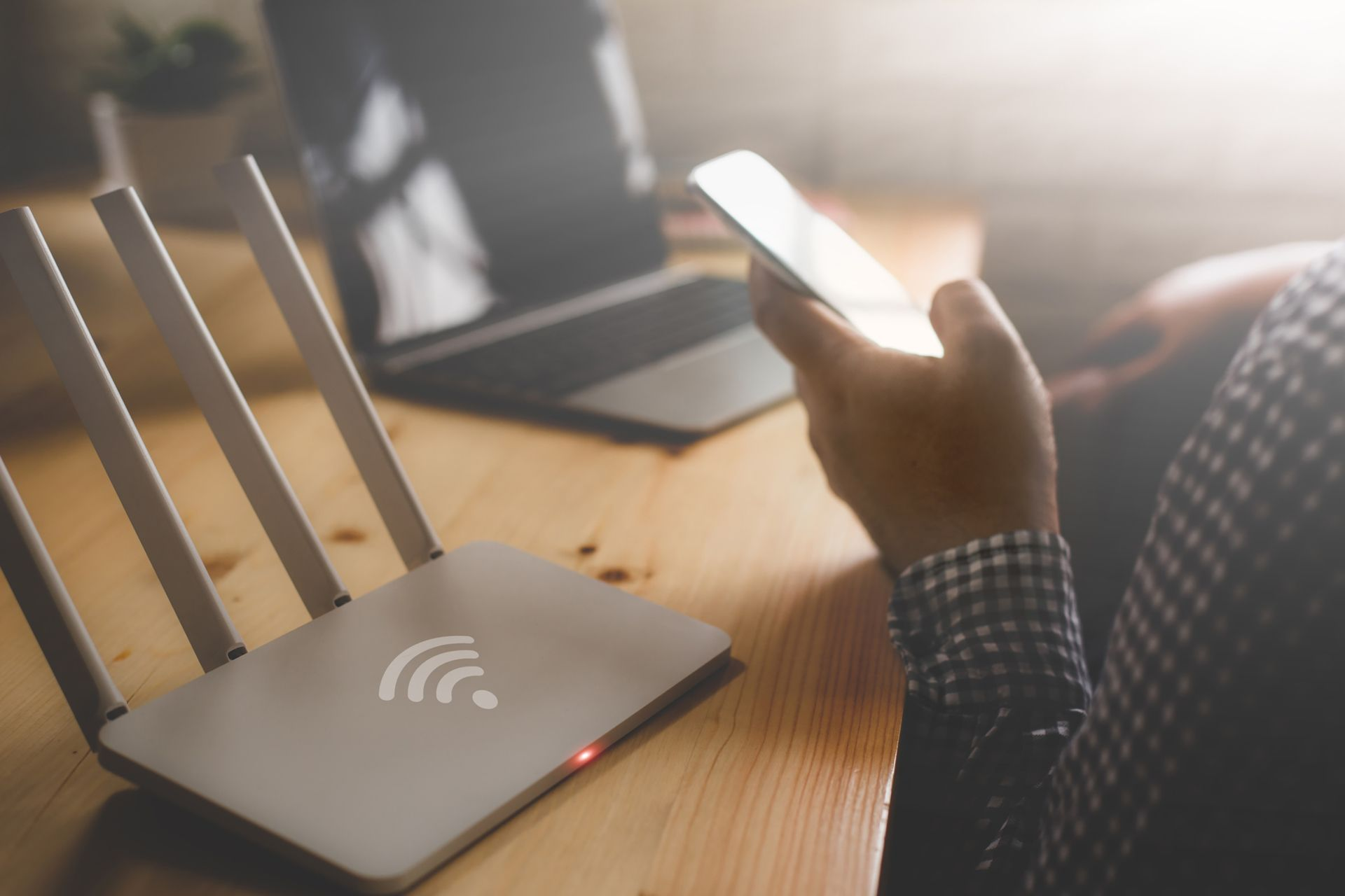 Pick a complex password for your WiFi network, and change it every three months for extra security.  © CASEZY / IStock.com