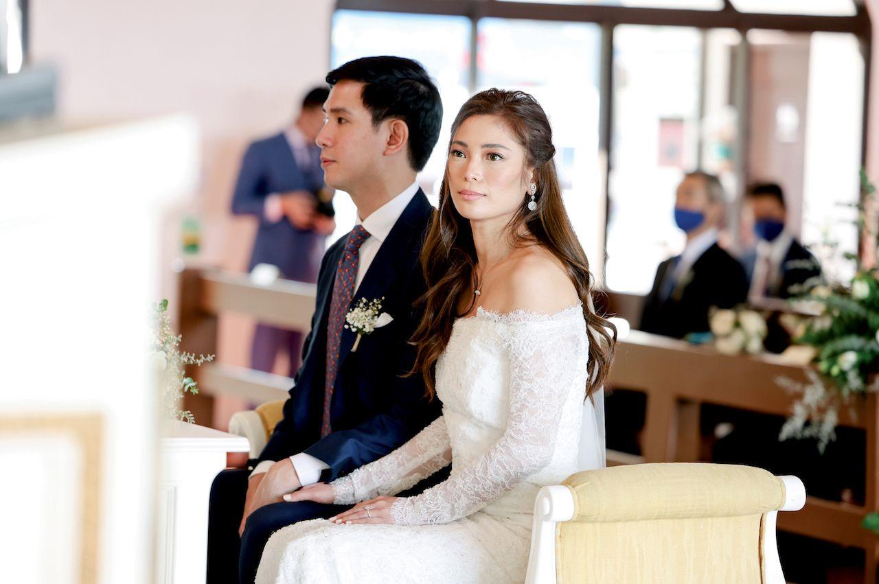 Inside Charles Tiu And Sari Lazaro's Intimate Wedding In Tagaytay
