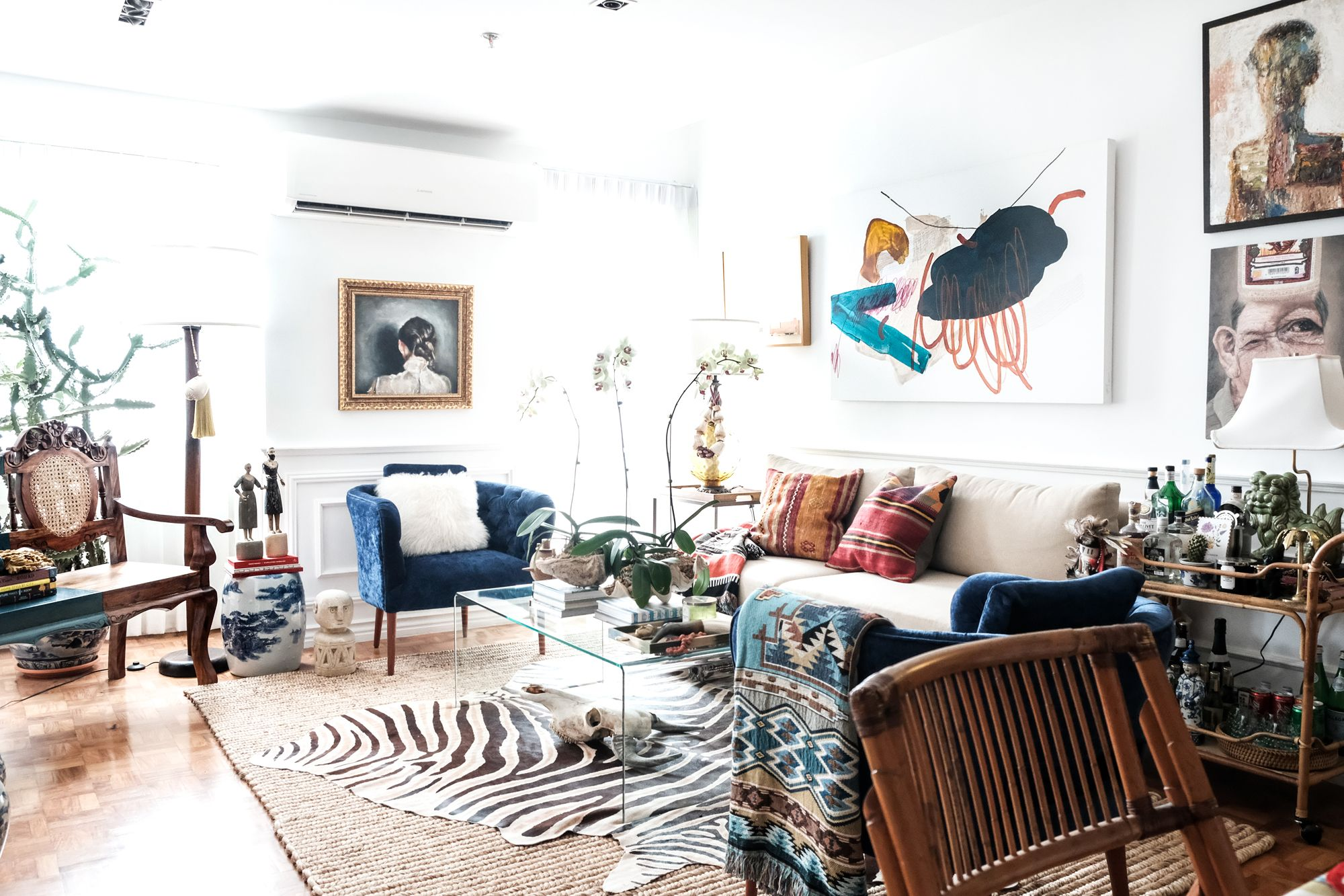 Home Tour: Stylist Michelle Hui Lao Goes Maximalist With Minimal Space