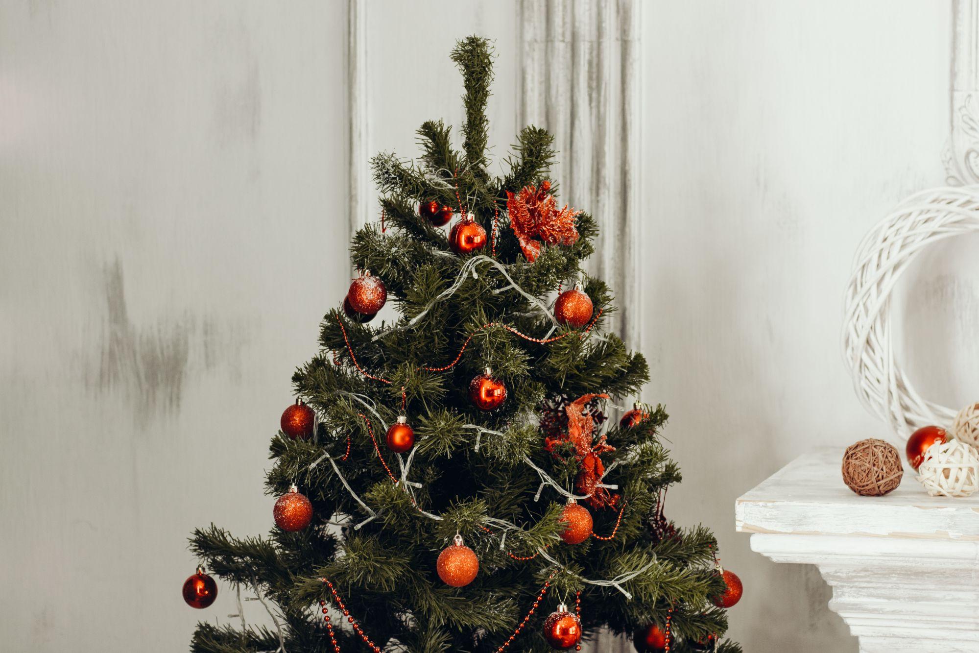 Rustic Christmas Coronavirus Covid 19 2020 Pandemic First Pandemic Ornament Wood Log Christmas Decor Quarantine