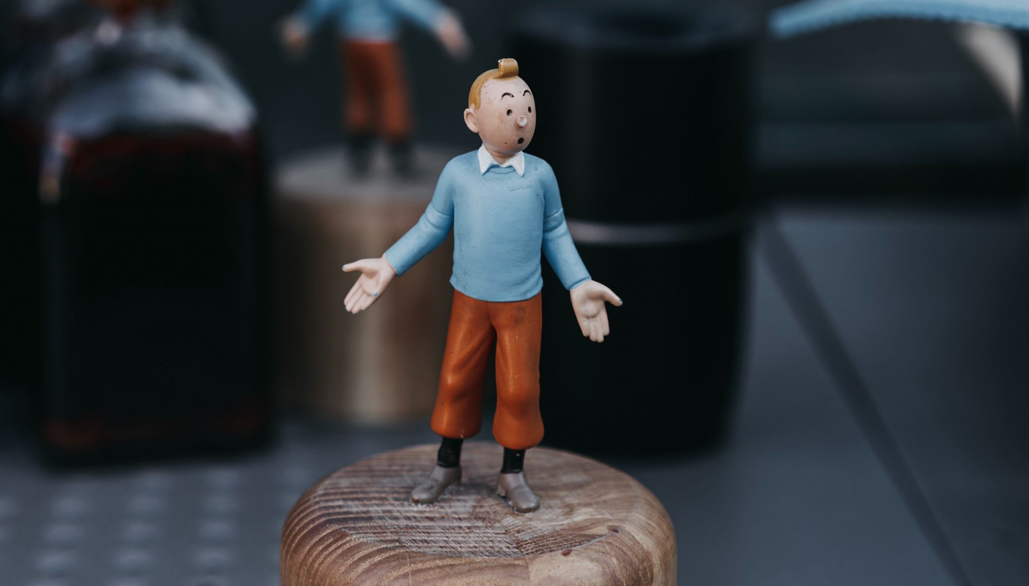 An Original Tintin Painting Sold For A Record Of 3 Million Euros At Auction