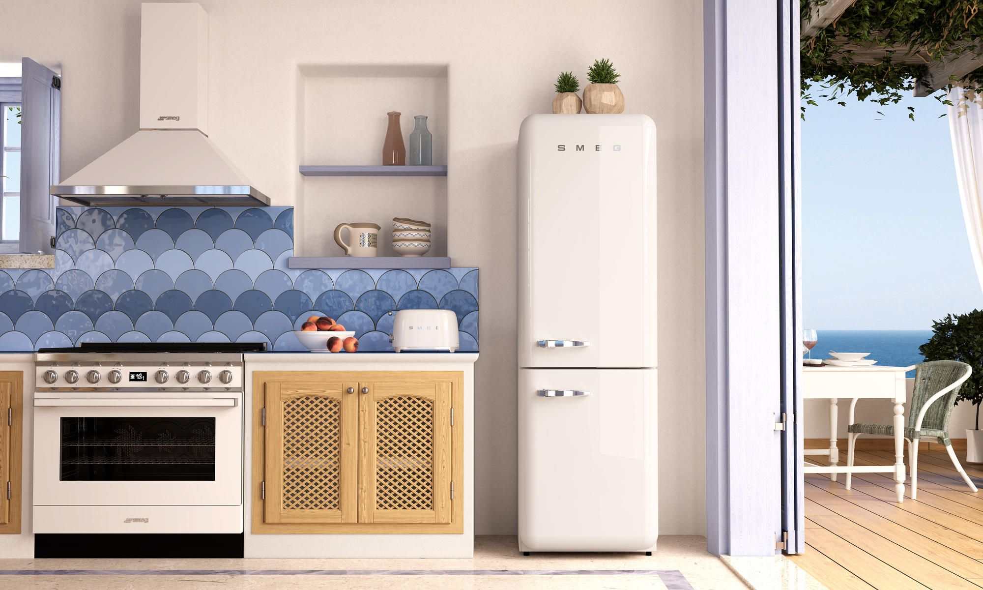 Home Tips: 6 Must-Have Items From SMEG For A Picture-Perfect Beach House Kitchen