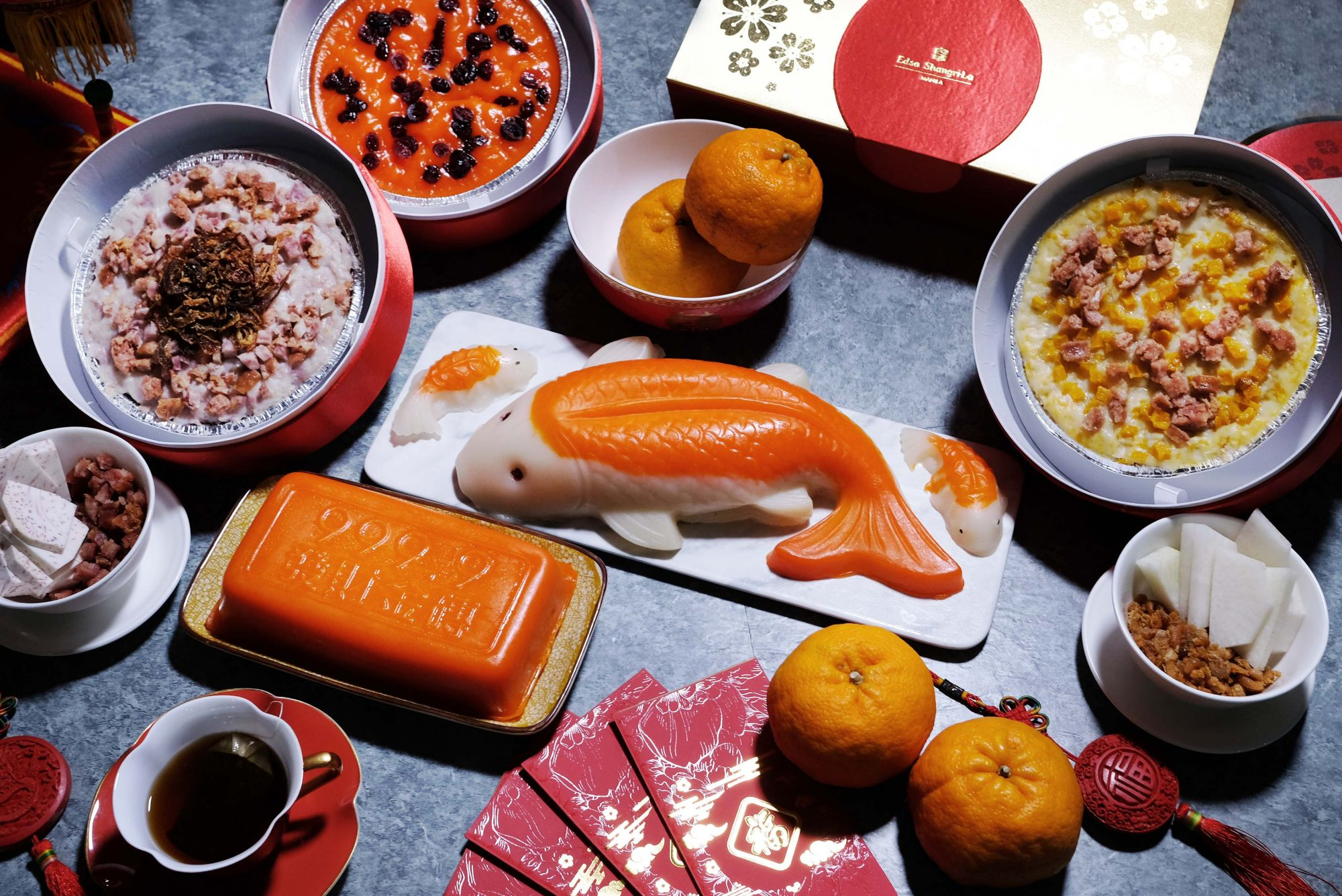 Enjoy Authentic Asian Specialties This Year Of The Ox 2021 At Edsa Shangri-La's Summer Palace