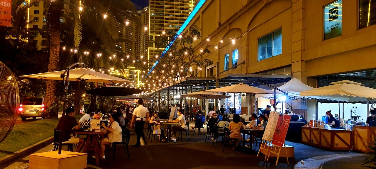 The Grid: You Can Now Order Contactless And Dine Al-Fresco At Rockwell Streetside