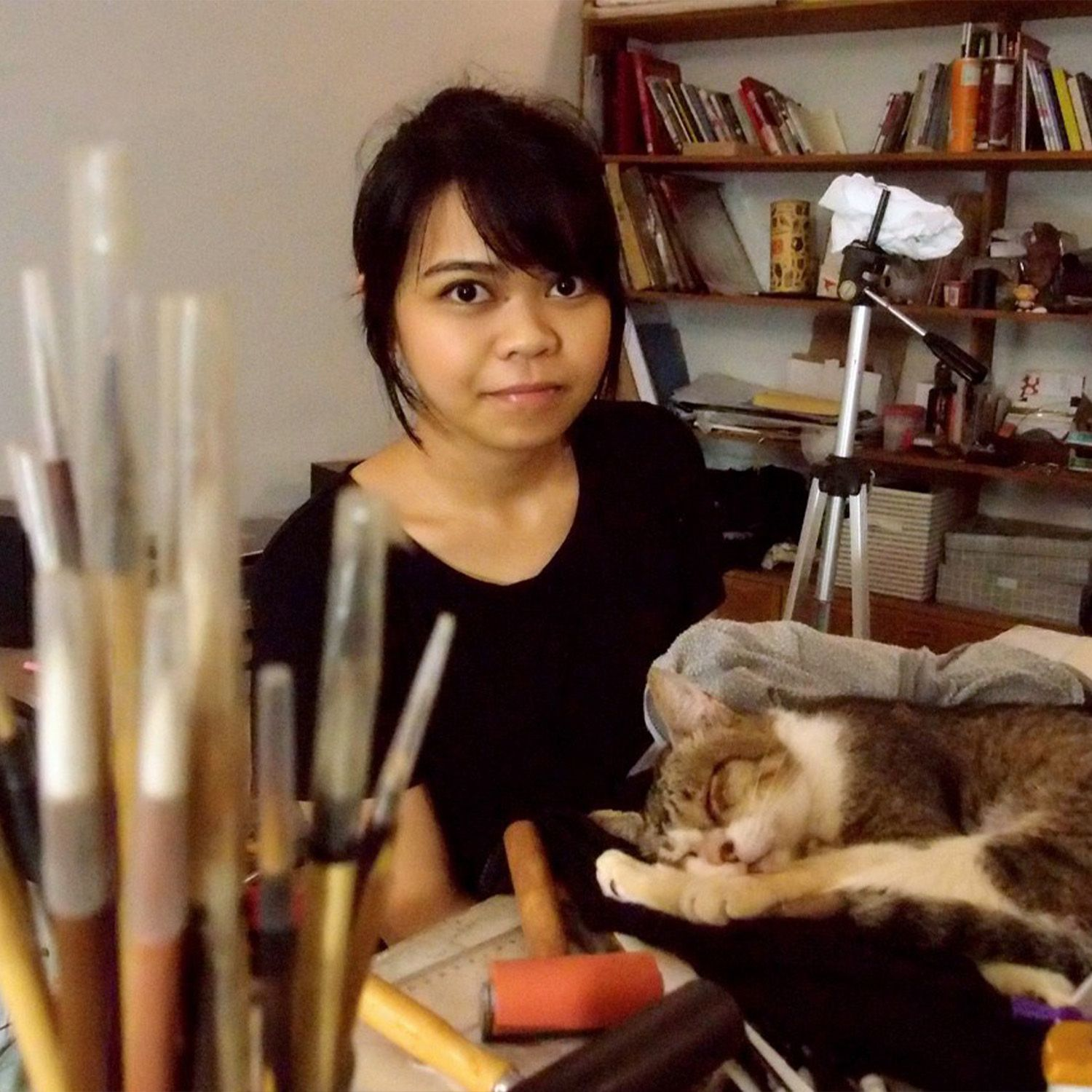 Art In The Park 2021: Get To Know Artist Henrielle Pagkaliwangan