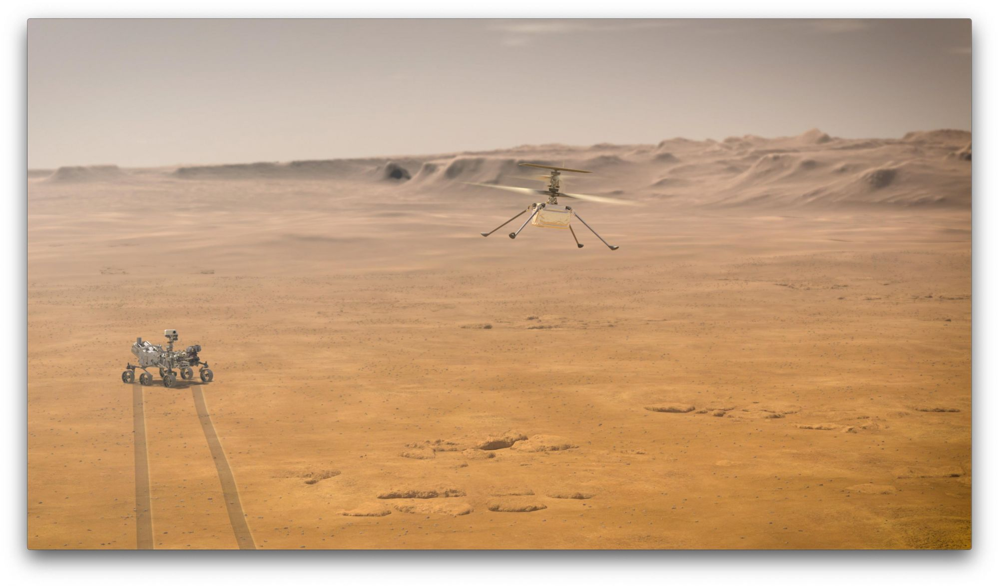 NASA Update: First Helicopter To Land On Mars Sends Back Valuable Info