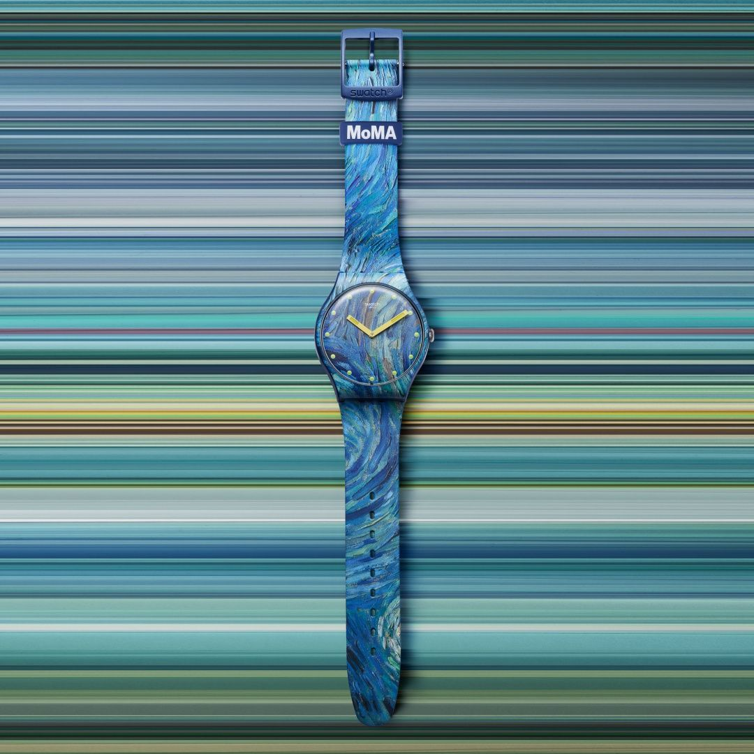 6 Special Edition Swatch Watches In Collaboration With Museum of Modern Art (MoMA)