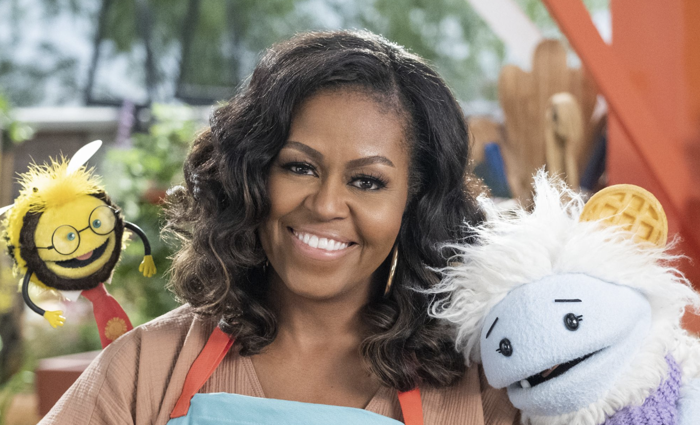 Michelle Obama On Netflix: Waffles + Mochi, A New Children's Cooking Show
