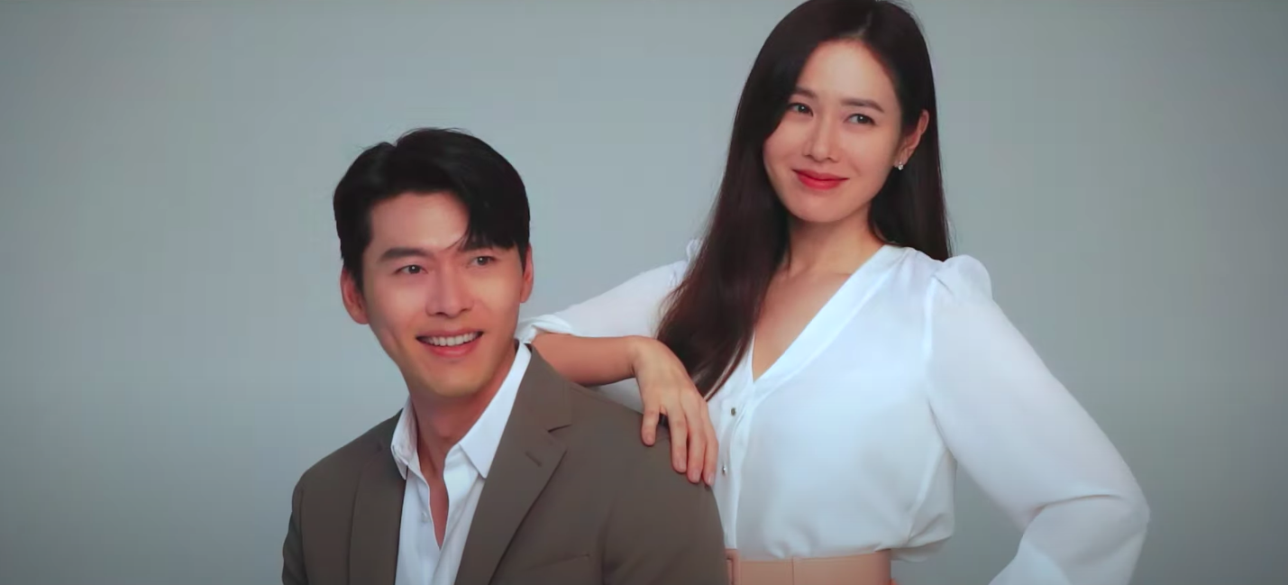 Crash Landing On You Stars Hyun Bin and Son Ye Jin are in a New Campaign Together