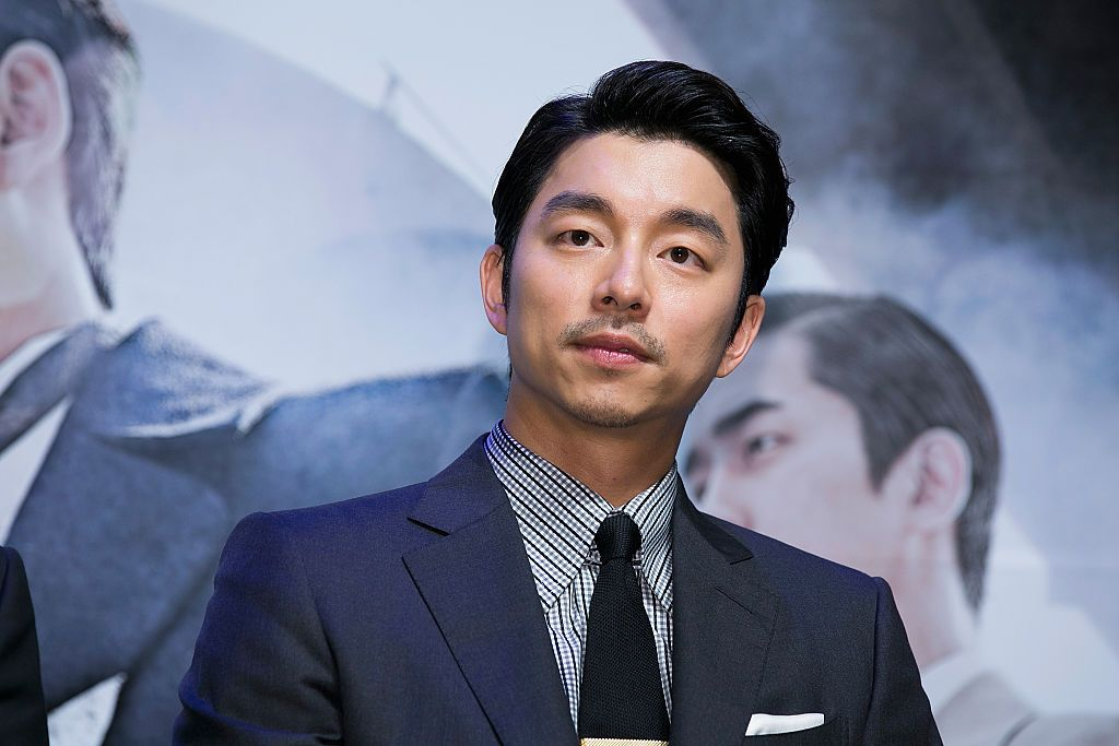 """SEOUL, SOUTH KOREA - AUGUST 04:  South Korean actor Gong Yoo attends the press conference for """"The Age Of Shadows"""" at CGV on August 4, 2016 in Seoul, South Korea. The film will open on September in South Korea.  (Photo by Han Myung-Gu/WireImage)"""
