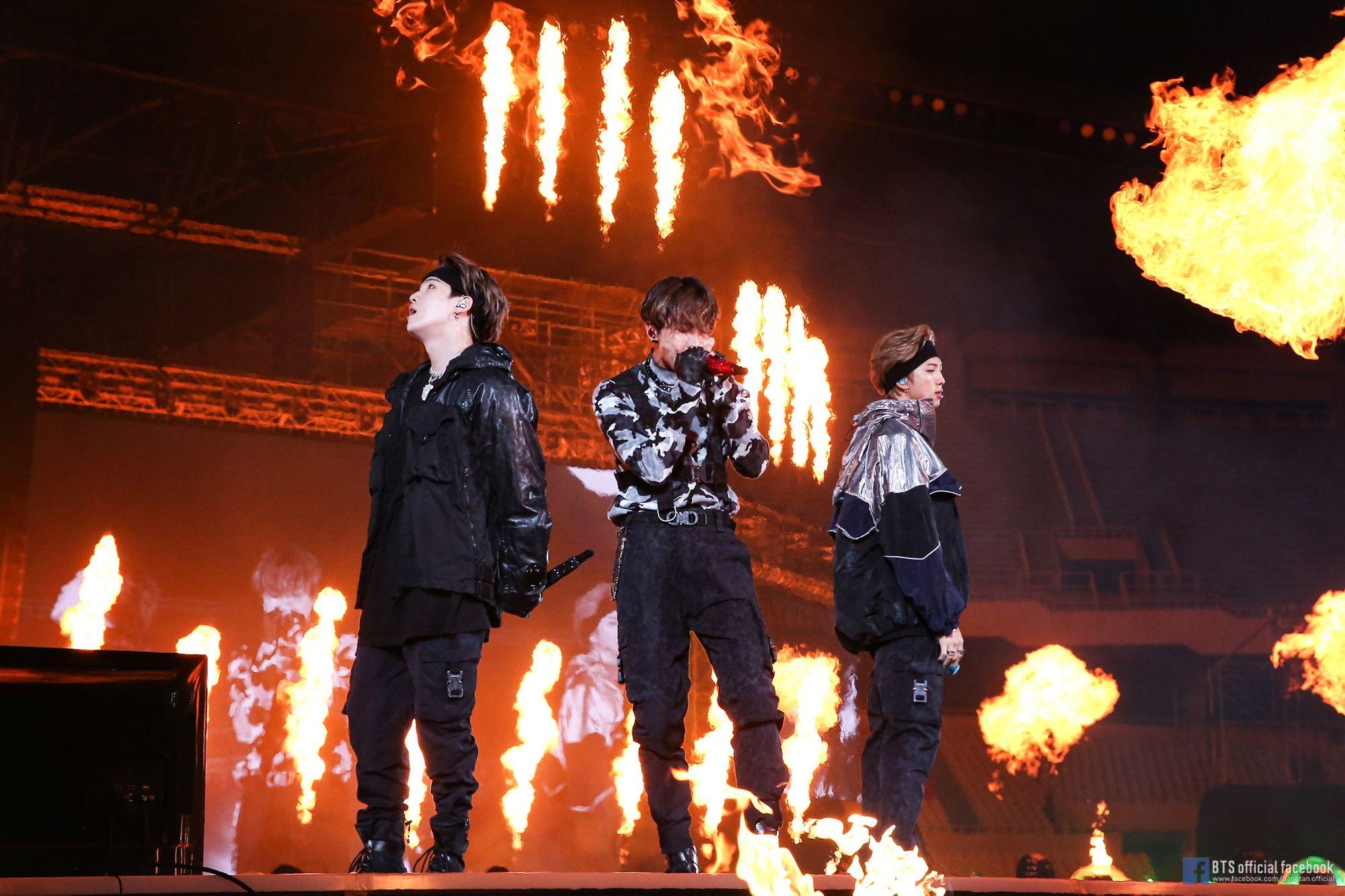 Suga, J Hope, RM | Image: BTS Official Facebook