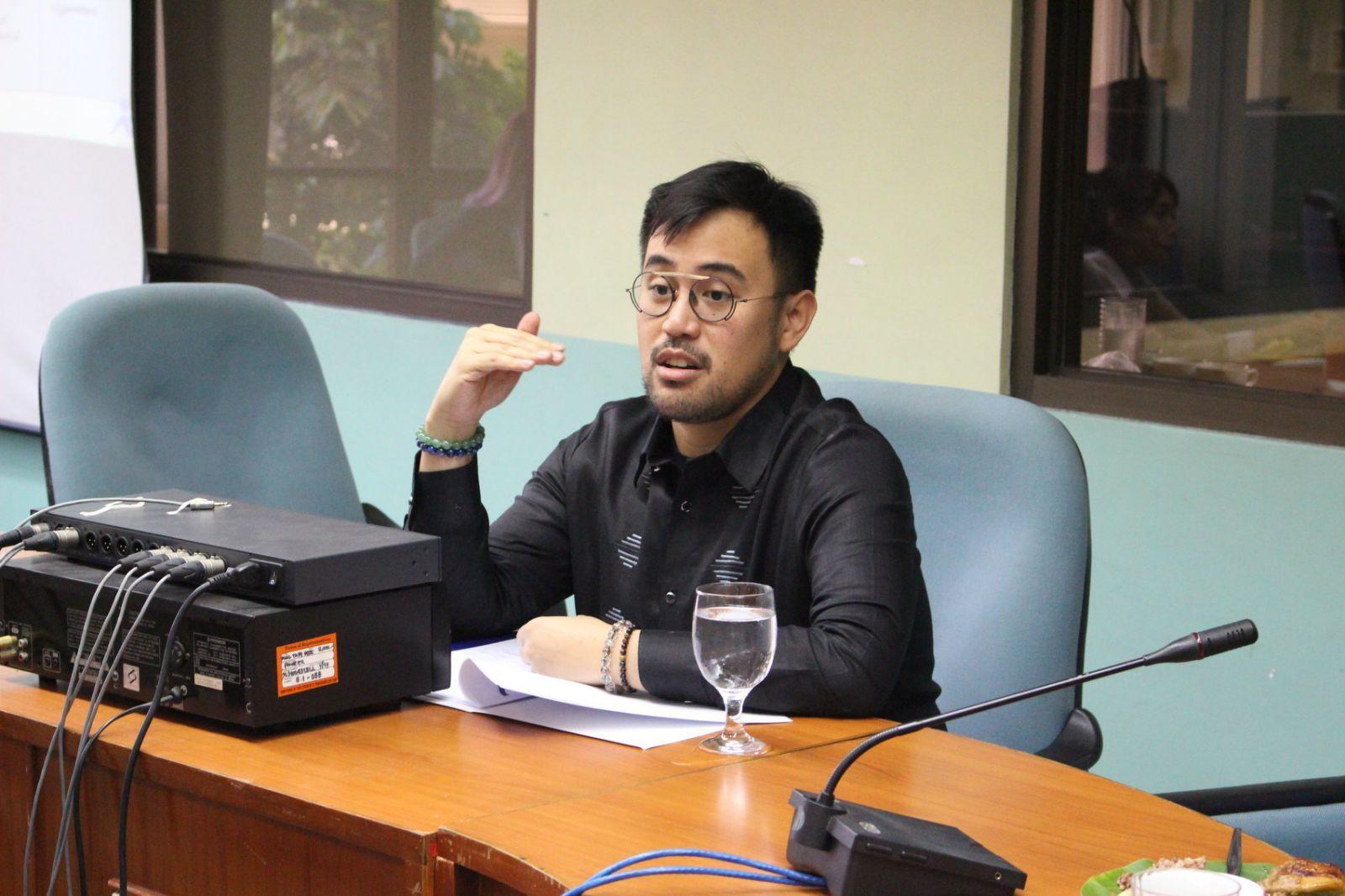 Congressman And Director Toff De Venecia Speaks About Philippine Arts And Culture
