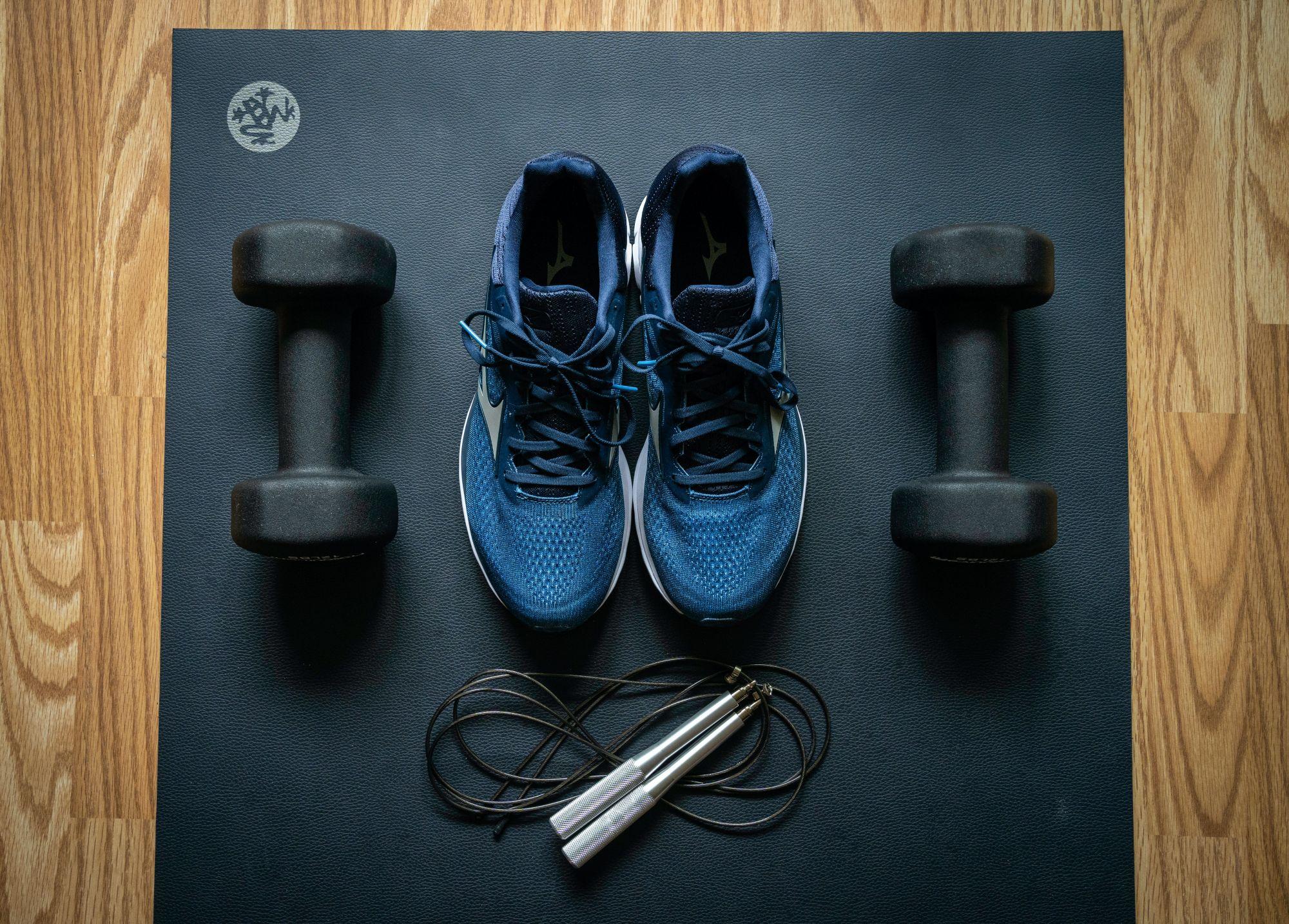 Home gym equipments.   Photo: Unsplash