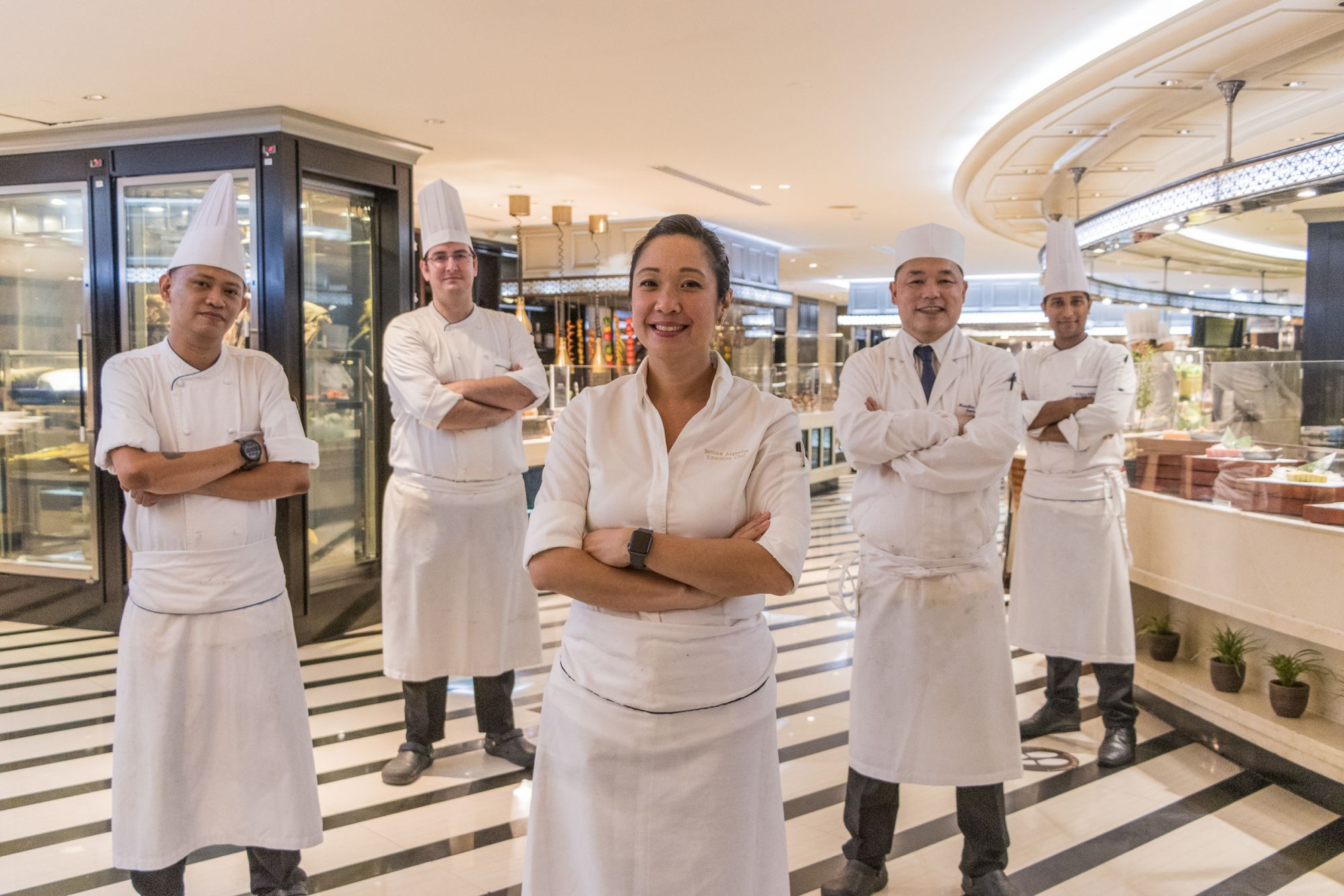 Bettina Arguelles Is The First Filipina Executive Chef Of A 5-star Hotel In The Philippines