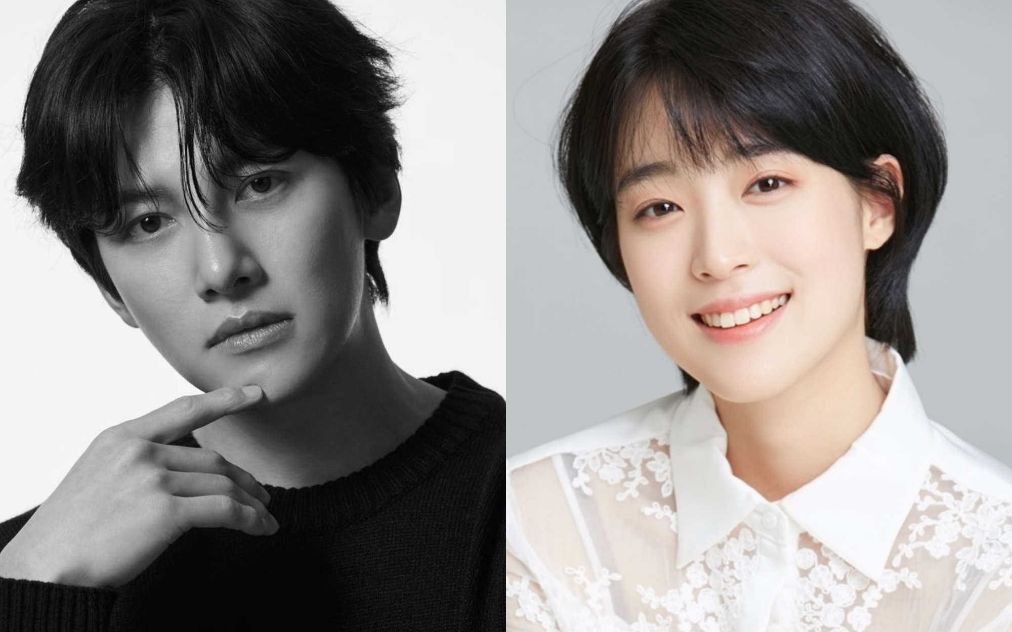 Photo: stylised from @jichangwook on Instagram and Choi Sung-eun on asianwiki.com