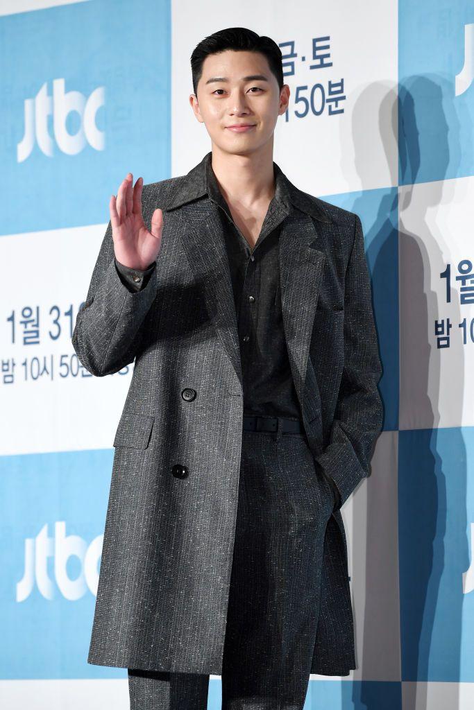 SEOUL, SOUTH KOREA - JANUARY 30: Actor Park Seo-Joon during a press conference of JTBC drama 'Itaewon Class' at Conrad Seoul Hotel on January 30, 2020 in Seoul, South Korea. (Photo by THE FACT/Imazins via Getty Images)