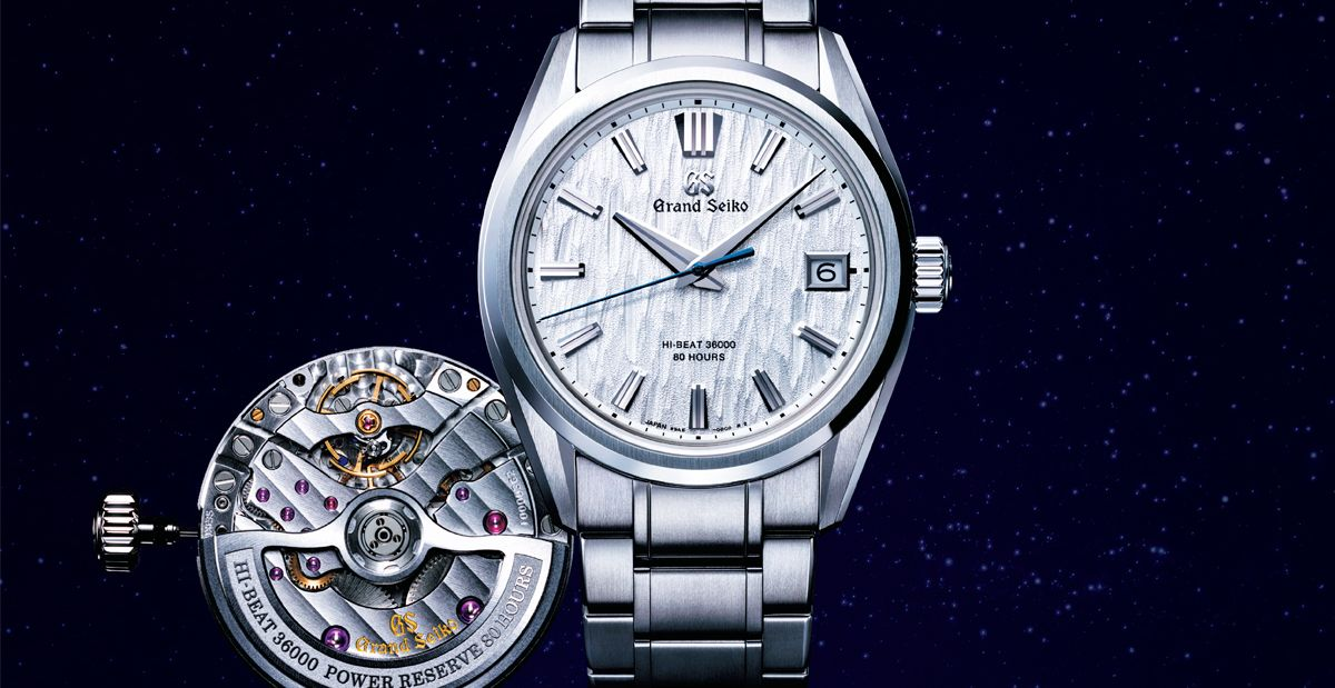 This New Grand Seiko SLGH005 Watch Is Inspired By Graceful White Birch Trees In Japan