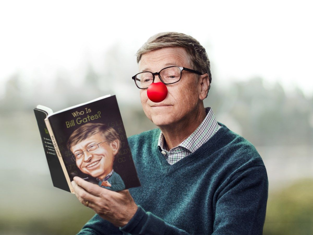Photo: Bill Gates' official Facebook page.