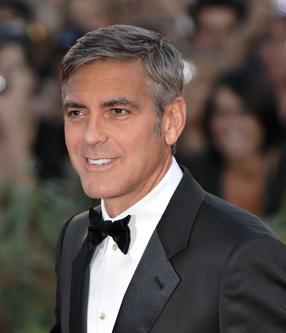 George Clooney at the 2009 Venice Film Festival. | Photo from Wikimedia Commons; Nicolas Genin