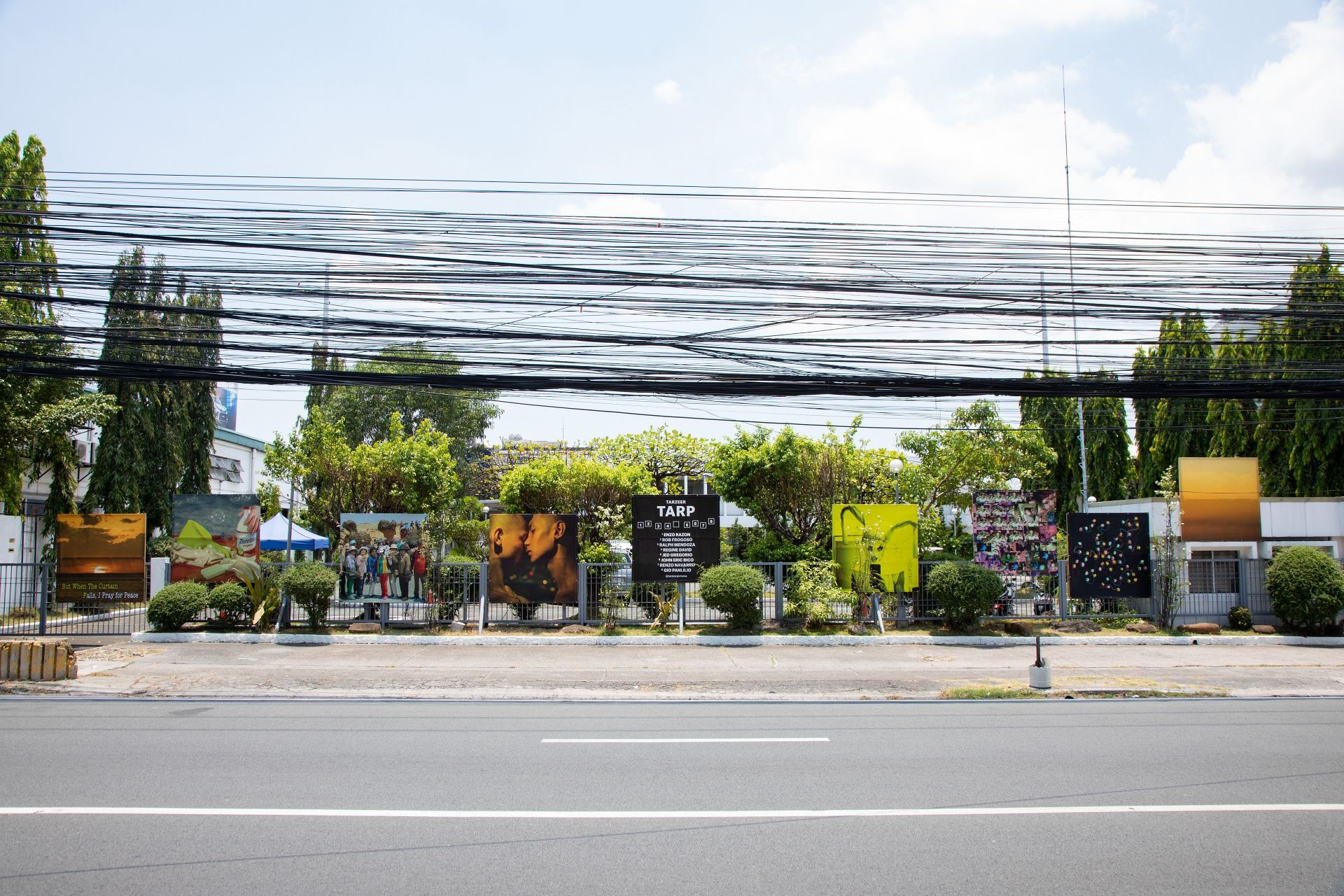 Art Fair Philippines 2021: Tarzeer Pictures Brings Art To The Public With Tarpaulins Along Pasong Tamo