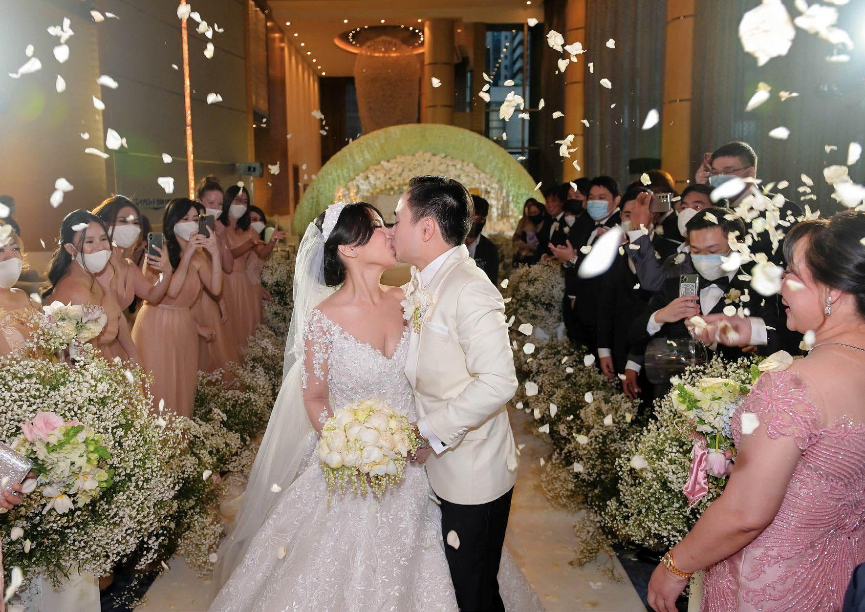 Tatler Weddings: Robert Tan And Rachel Felicia Celebrate An Everlasting Union