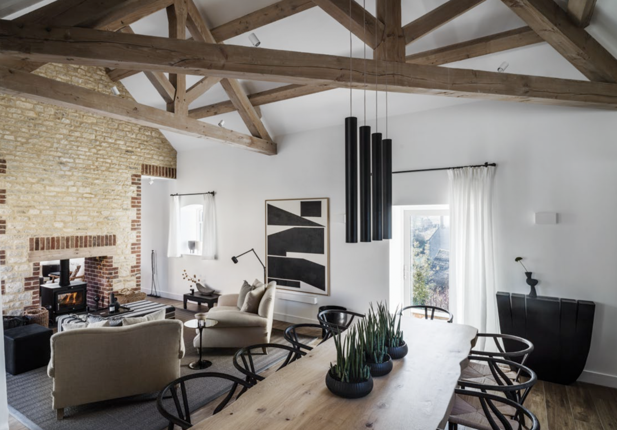 Home Tour: Kelly Hoppen's Country Home Is Rustic Yet Modern