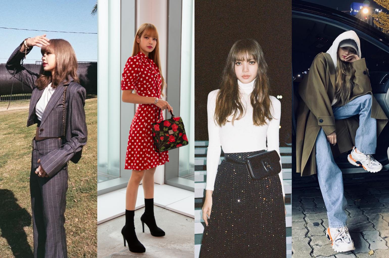 Lisa Manoban Best Looks | Photo: stylised (L-R): @lalalalisa_m on Instagram, Getty Images, @lalalalisa_m on Instagram, @lalalalisa_m on Instagram