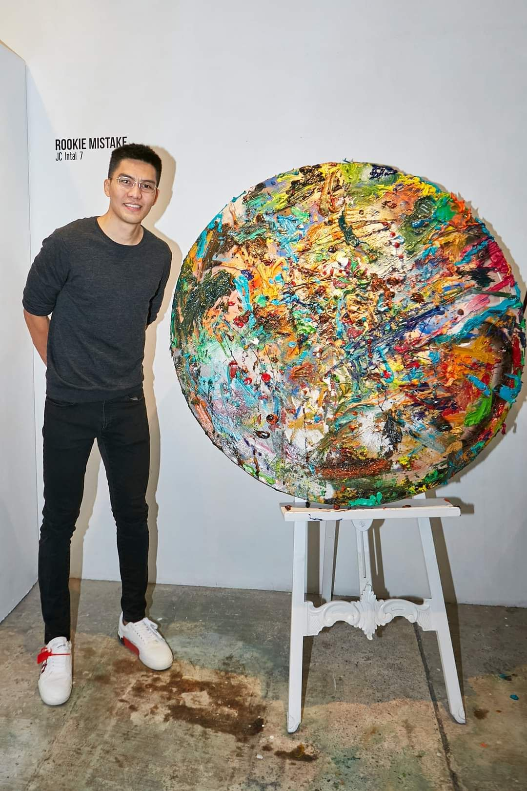 Basketball Star JC Intal On His Foray Into The Philippine Art Scene