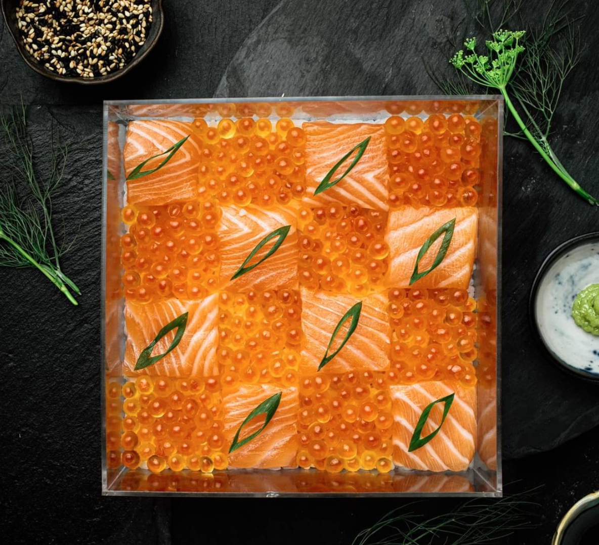 polaris fine foods, sashimi, foodie finds, selina ocampo