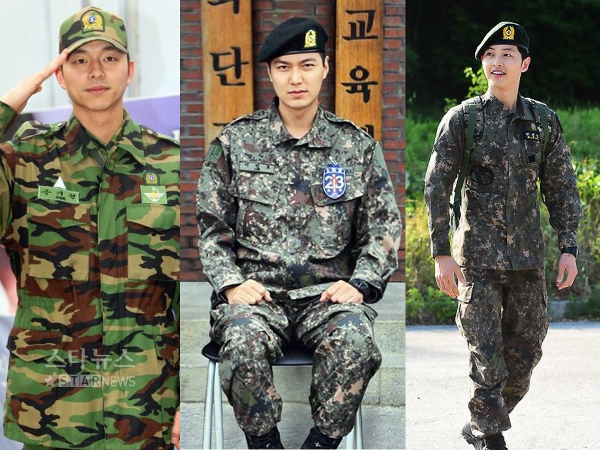 From left to right: Gong Yoo, Lee Min-ho, Song Joong-Ki