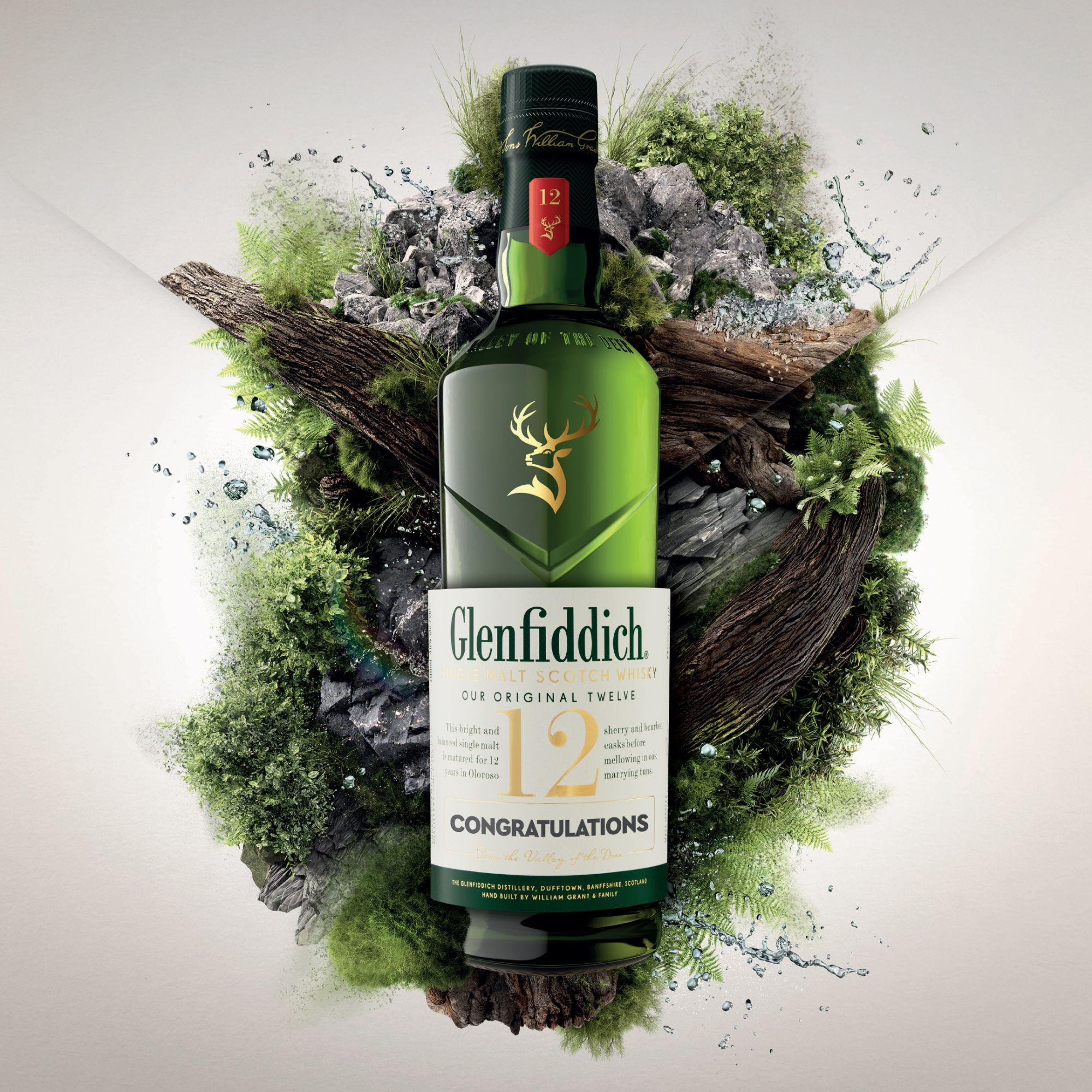 Personalise Your Glenfiddich Bottle Label To Celebrate Great Moments