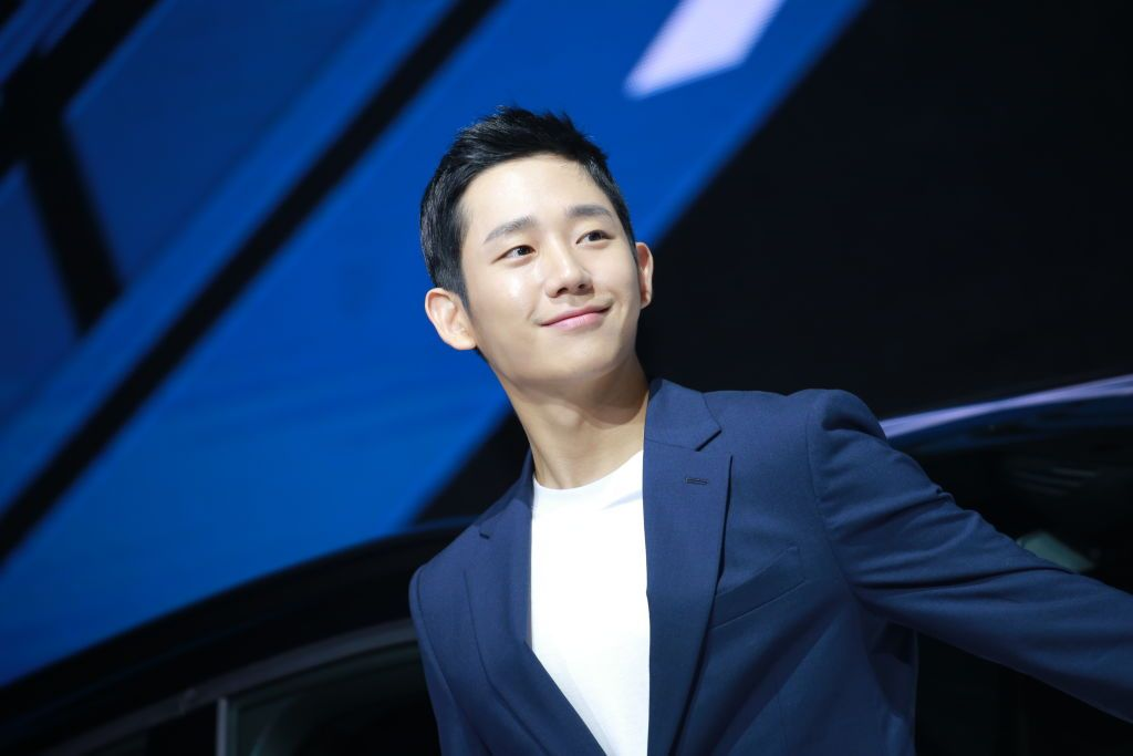 SEOUL. SOUTH KOREA - JUNE 26: South Korean actor Jung Hae-in attends the launch of Volvo XC40 on June 26, 2018 in Seoul, South Korea. (Photo by Visual China Group via Getty Images/Visual China Group via Getty Images)