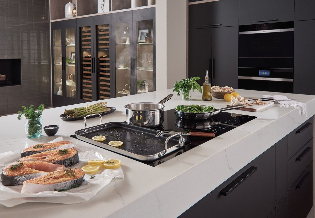 Wolf's Induction Cooktops Are The Quickest Way To Prepare A Delicious Meal