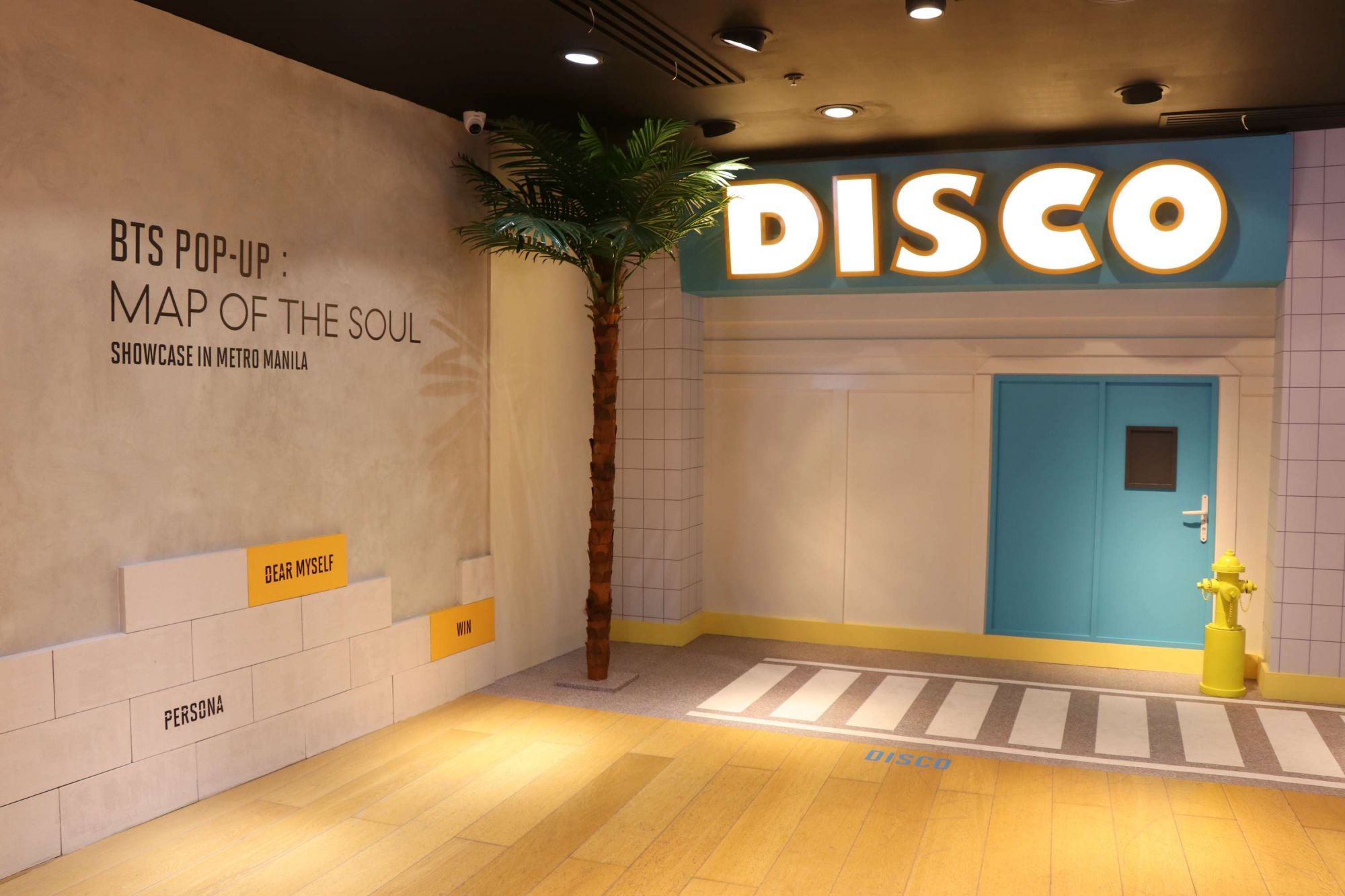 BTS Map of the Soul Pop-up at SM Megamall