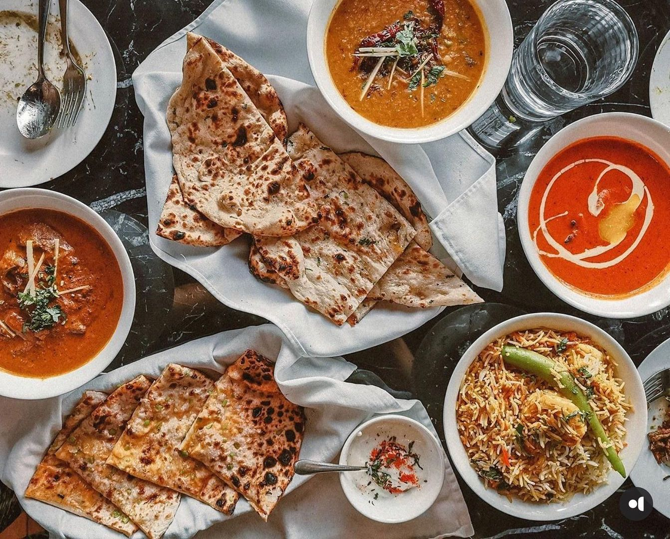 Indian food from Mantra Bistro