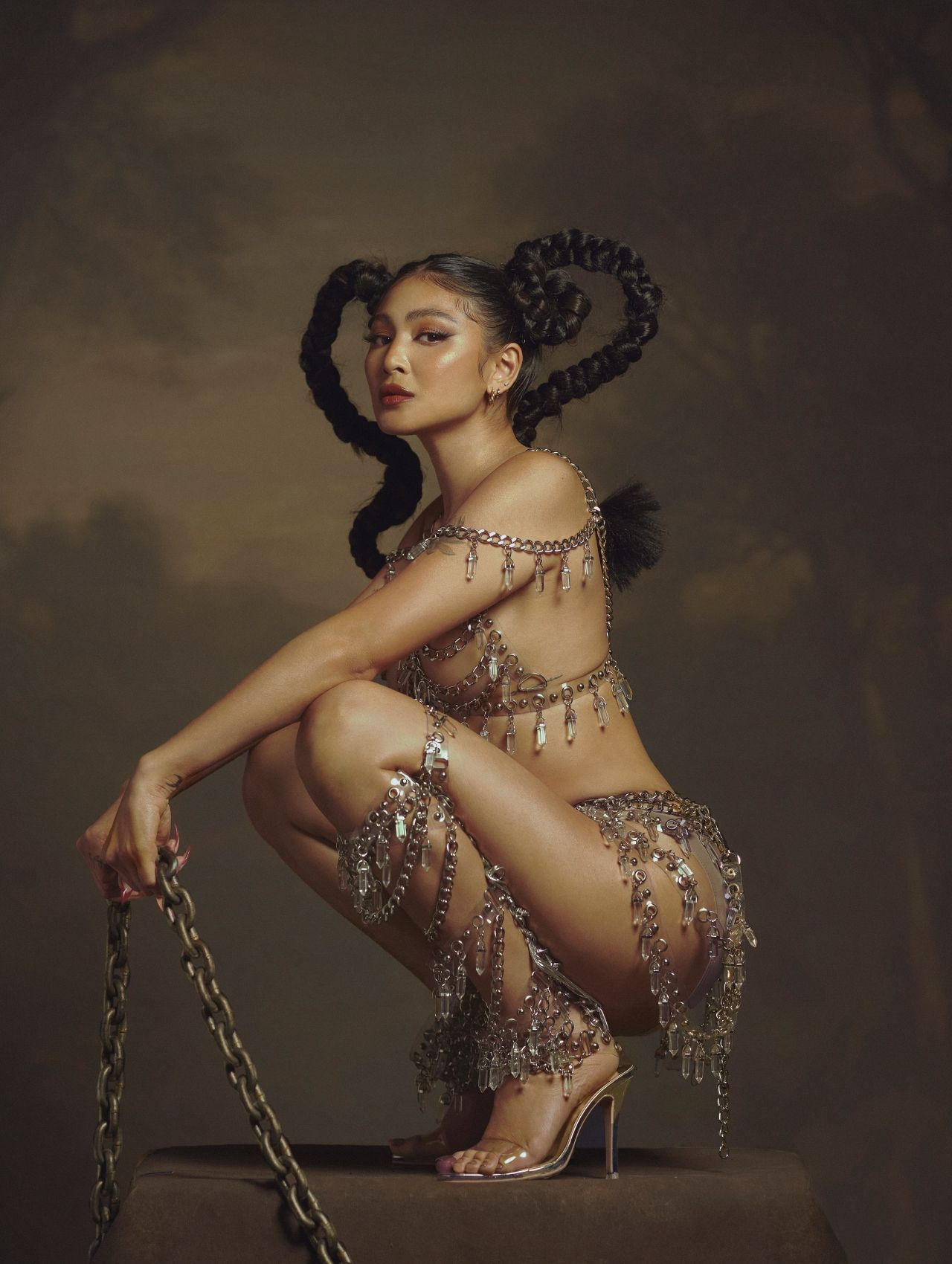 Scorpio Season from a series created to coincide with Halloween and Nadine Lustre's birthday and album release   Photo by BJ Pascual
