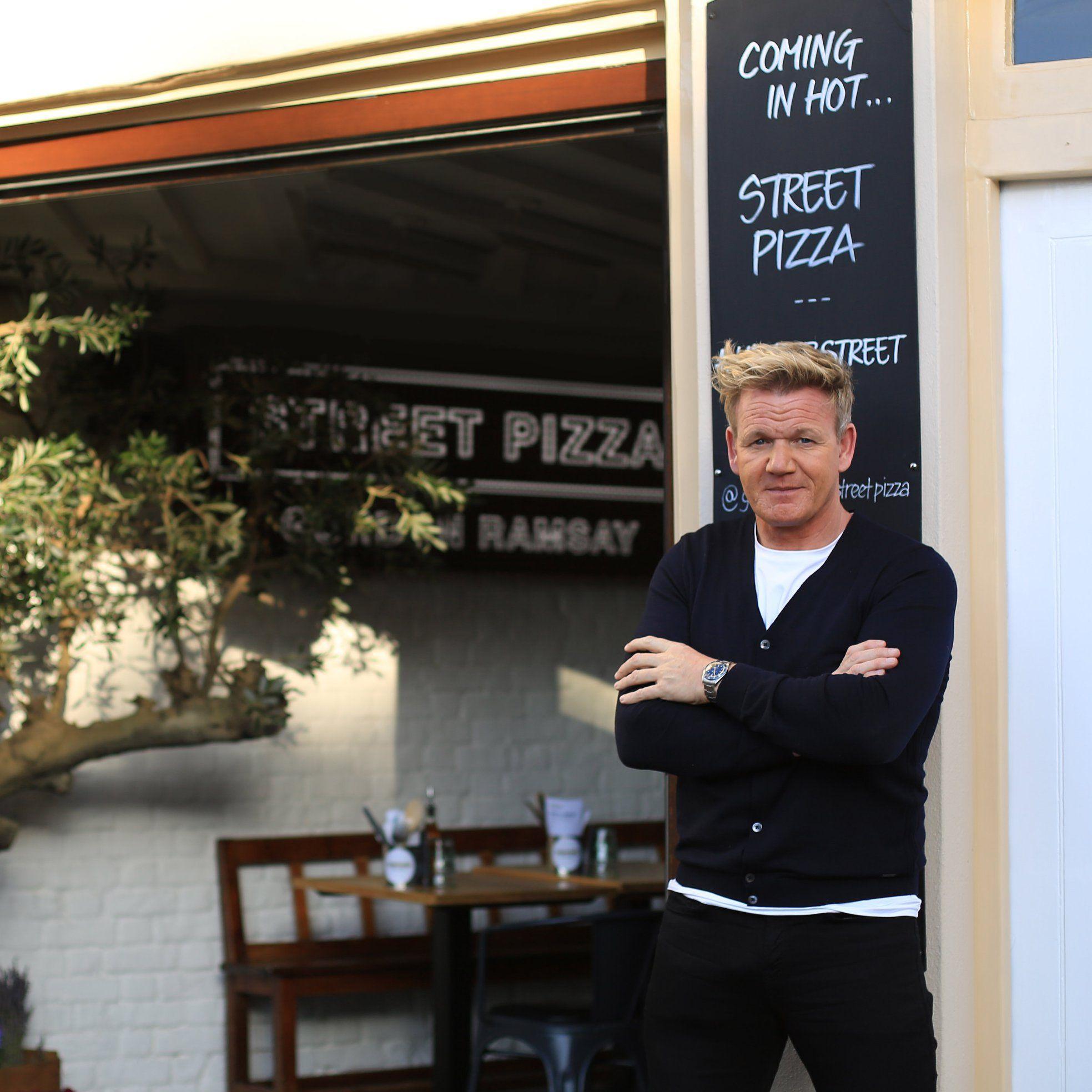 Gordon Ramsay's new pizza restaurant in London, Street Pizza. Photo: Gordon Ramsay official Facebook page