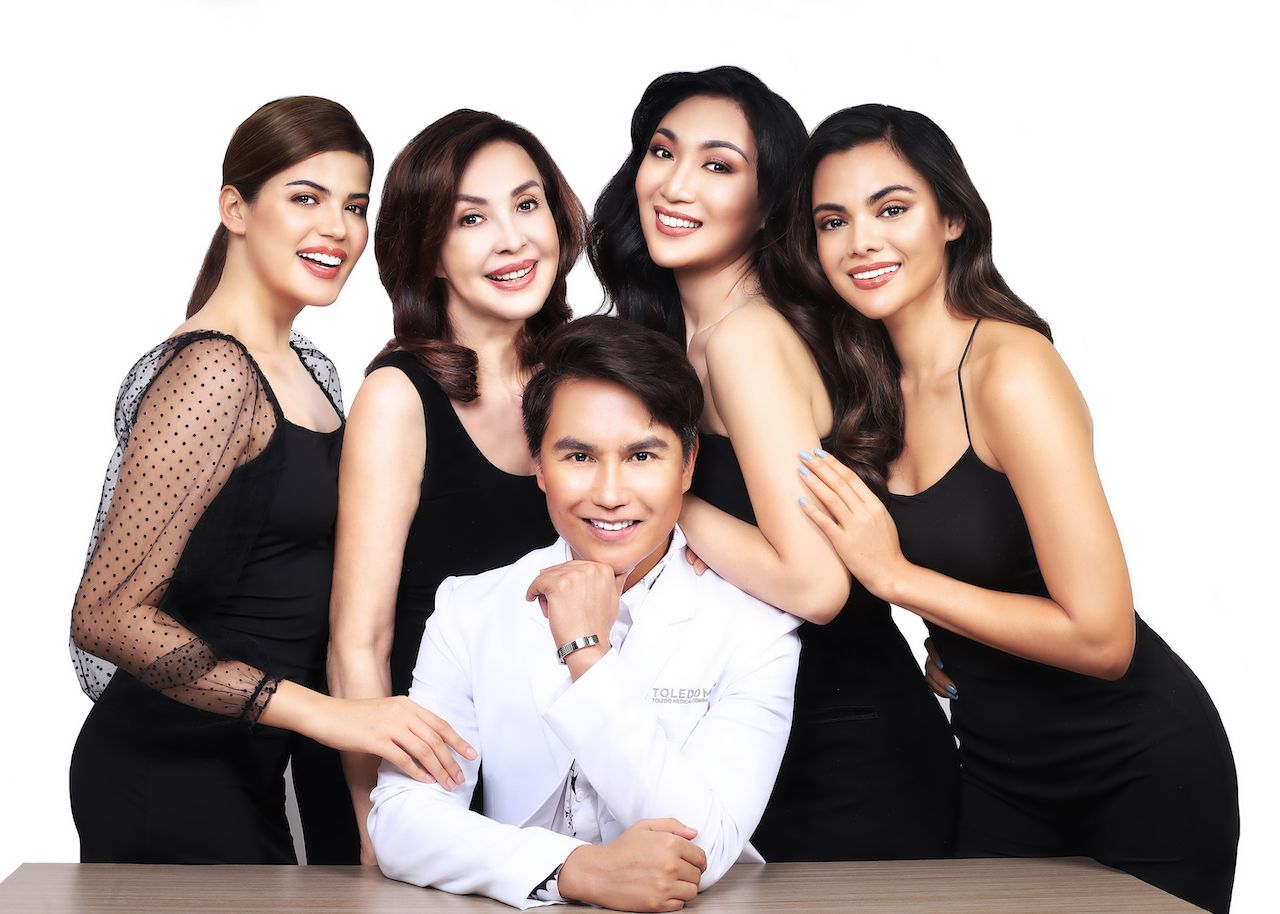 Dr. Librado Toledo Jr. Is The Man Behind Some Of The Philippines' Most Beautiful Faces