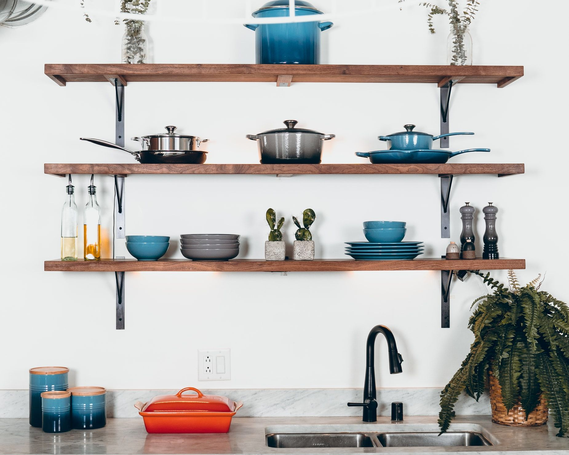 Colourful kitchen materials (Photo: Dane Deaner on Unsplash)